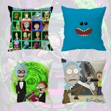 "16""in Rick and Morty MEESEEKS Car Bed Waist Cushion Pillow Case Cover Home Decor   163065373999"