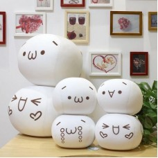 1PC Japan Kawaii Emoticon Kaomoji kun Cushion Stuffed Pillow Plush Toy Doll   112243225432