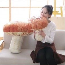 Mushroom Plush Toy Stuffed Fungus Doll Pillow Decorative Cushion Birthday Gift   382525441261