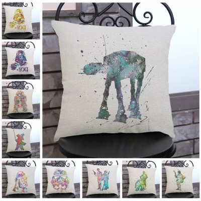 Star Wars Cartoon Anime Pillow Cases Car Seat Sofa Home Decor Cushion Cover   162924904586