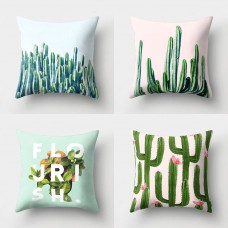Tropical Cactus Plants Pillow Case Throw Soft Cushion Cover Home Decor Healthy   232519659829