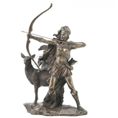 Artemis - The Goddess Of Hunting And Wilderness Statue Sculpture Figure   192028207978
