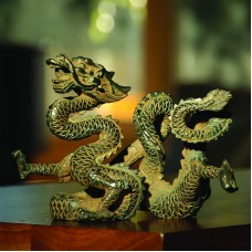 Dragon of the West Wind Sculpture/Statue by SPI Home/San Pacific Int'l 50193 725739044438  252835394162
