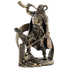 Heimdall Norse God Viking Statue Sculpture Figure *GREAT HOLIDAY GIFT!   223102966967
