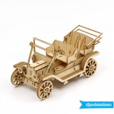 Ki-Gu-Mi Classic Car Smartphone Stand Wooden Art 3D DIY Model Hobby Build Kit  4892453001903  263754436015
