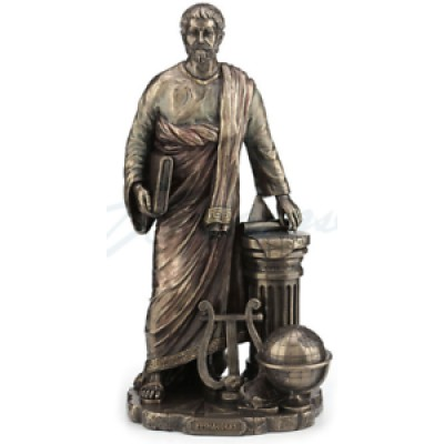 Pythagoras Samos Mathematician and Philosopher Figurine Sculpture Statue     332562120468