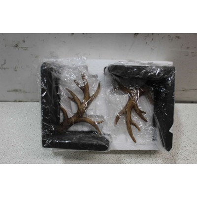 "7.5"" Antler Bookends   382541238346"
