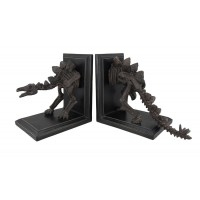 Scratch & Dent Stegosaurus Skeleton Head and Tail Bookends Set of 2 688907734978  362394732653