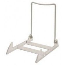 12- Clear / White Adjustable Display Stands / Easels for Plates Art - Gibson 4PL   251248612825
