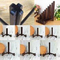 Wood Plate Stand Display Easel Holder Table Desk Stand for China Photo Paint   392049028895