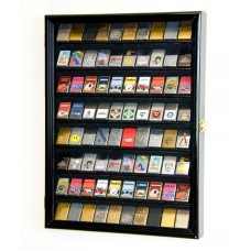 80 Zippo Lighter Lighters Matches Display Case Cabinet Wall Rack Holder -Locks   372139598398