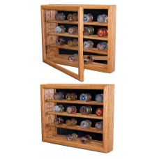 Coin Collector Display Case - Easily Holds upto 32 Military Challenge Coins   251833995255