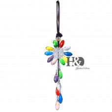 Crystal Rainbow Suncatcher Sunflower Prisms Hanging Car Pendants Window Decor   123304008492