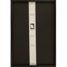 Frame USA Frame USA Shadow Box Elite Picture Frame 14042 Black 24-in x 36-in   232647859166