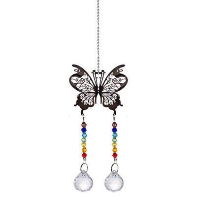Hanging Suncatcher Crystal Ball Prism Rainbow Feng Shui Pendants Car Mirror 20mm   132737056421