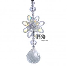 Hanging Suncatcher Sided Water Droplet Crystal Prisms Rainbow Feng Shui Pendants 602716346177  122940947609
