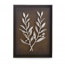 Michael Aram Olive Branch Shadow Box - Antique Nickel   322889057762