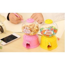 Mini Gum Ball Machine Candy Snack Dispenser Plastic Kids Bubble Gum Vending Toy   222963941543