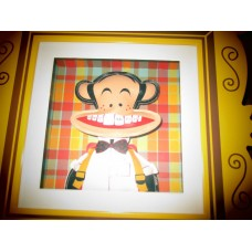 PAUL FRANK'S JULIUS SHADOW BOX WALL ART NEW   352423652238