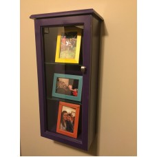 Shadow Box ( Custom Colored With Adjustable Shelves!!!)   223094173909