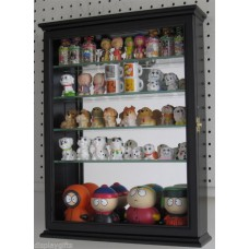 Small Wall Curio Cabinet Display Case Shadow Box for Figurines, CD06   290747348472