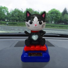 Solar Powered Dancing Animal Swinging Animated Bobble Dancer Toy Car Decor  K   312213708272