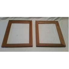 "Solid Wood Picture Frames Lot 2 Natural Finish 11"" x 14""   263879386298"