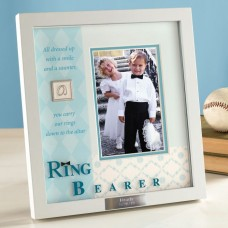 Wedding – Ring Bearer Shadow Box Picture Frame   352431566623