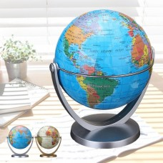 360° Rotating Globes Earth Ocean Globe World Geography Map Desktop Decoration   372042649034