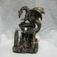 Dragon's Peak Dragon Oil Warmer Figurine   163202632091