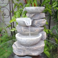 Feng Shui Indoor Multi Bowls Tabletop Water Fountain 859529005078  262485658347