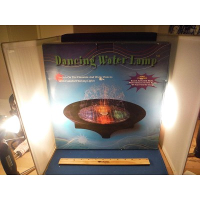 NEW Dancing Water Ballet & Lights Syncronizes With Your Music Water Fountain NIB   142861020710