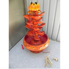Rare 60's vintage ceramic tabletop fountain    323370864429