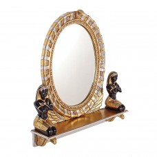 Amenhotep Amenophis Oval Vanity Mirror Wall Hanging Egyptian King Pharaoh Decor   292446389619