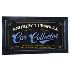 Car Collector Personalized Bar Occupational Mirror Sign Pub Office Garage   253807731956