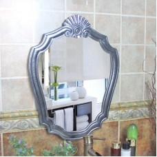 E35 Wall Hanging Bathroom Toilet Vanity Wall Makeup Mirror Front Waterproof Y    273400558849