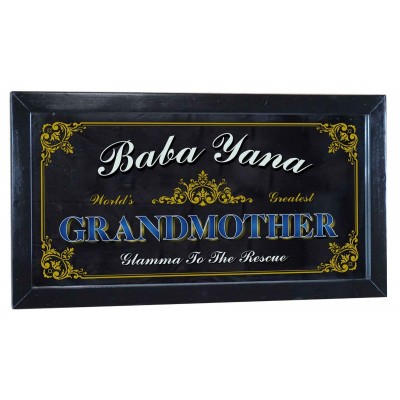 Grandma or Grandpa Personalized Bar Occupational Mirror Sign Pub Office Kitchen   263870399832