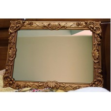 "Large Wall mirror Antique style carved wooden Mirror with Frame Rare Size 30""   132226891900"