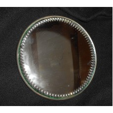 Vintage Bevelled Edge Glass Metal Back Made in England Small Wall Mirror   153131866018