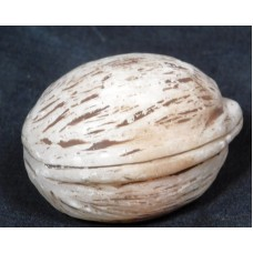 Antique Hand Carved Marble Stone Fruit English Walnut Genuine REALISTC Italy   142895865239
