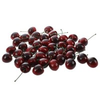 Faux Fake Craft Cherry Simulation Fruits Decor Desk Ornament 40 Pcs P2T4 4894462377796  173357459147
