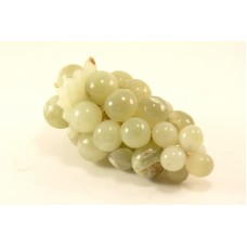 Vintage Decorative Italian Marble Pale Green Stone Grape Cluster, Life size   292672663155