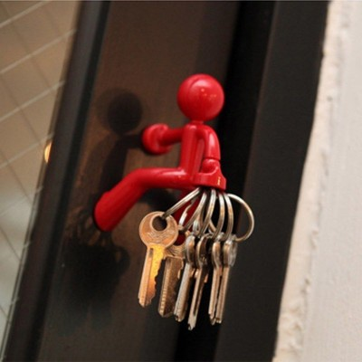 Anti Lost Climbing Villain Magnet Key Hanging Climbers Magnetic Magnet Keychain   283094138612