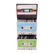 Art Tape Cassette Bin & Letter Sorter, Wall Decor 656741462623  142790053913