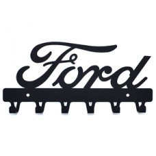 FORD logo Key Holder Hanger Black SOUVENIR car Gift emblem Birtday mens gift   262895498162