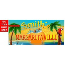 Personalized Margaritaville Key Hook Hanger from Redeye Laserworks   283102919934