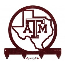 SWEN Products TEXAS A&M AGGIES Metal Key Chain Holder Hanger 844523076384  361528576629