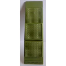 Vtg Fesco Plastic Mail Letters Notes Keys Organizer Wall Holder Avocado Green    352412085236