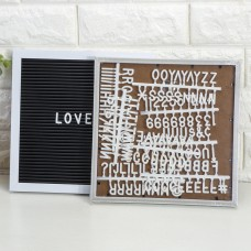 Message Board Desktop Ornament Decoration With 143Pcs Letter Numbers Symbols Hot   382479516188