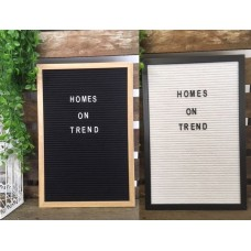 Retro Style Personalised Framed Message Memo Letter Peg Board Wedding Decoration   123019061009